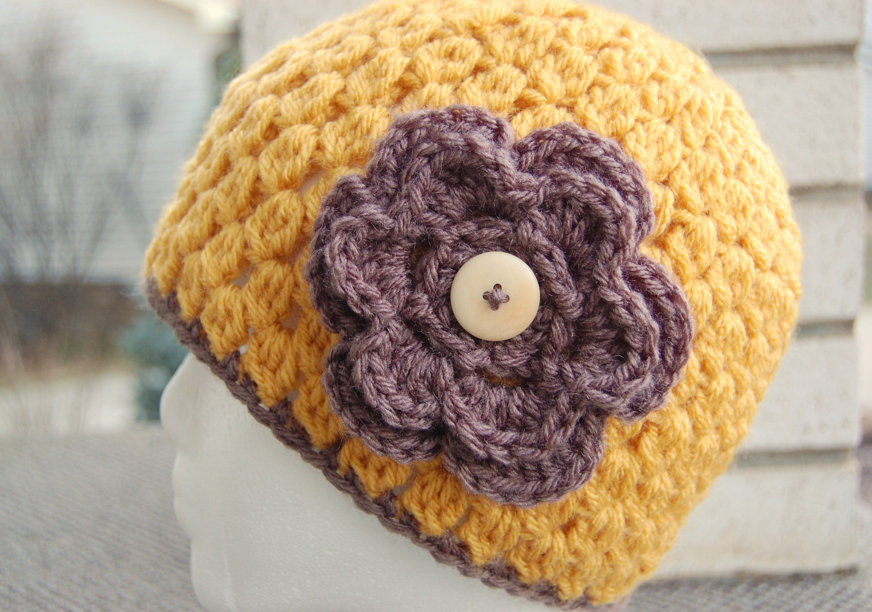 Crocheting Hats Patterns : The Jenny Lee - New Crochet Hat Pattern