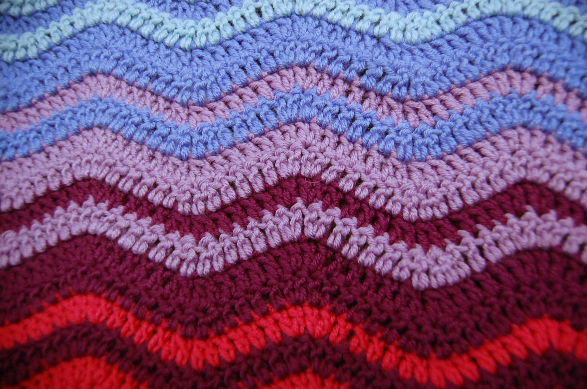 BASIC RIPPLE CROCHET PATTERNS – Crochet Patterns