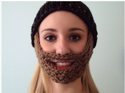 Crochet Beard Pattern