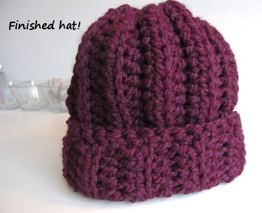 Crochet Hat Pattern Super Bulky Yarn : SUPER BULKY CROCHET YARN PATTERNS ? Free Crochet Patterns